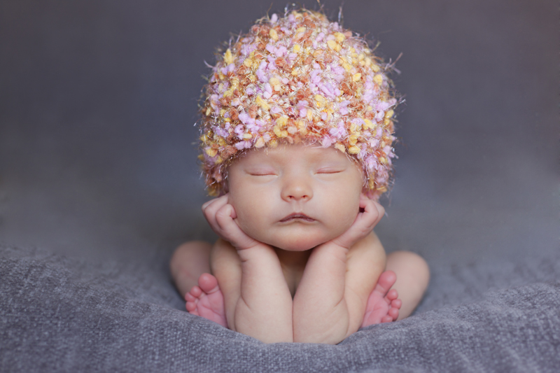 McKinney Photographer | Newborn Pose