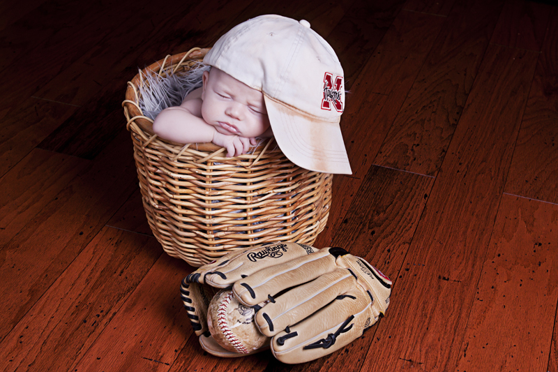 Baseball Newborn | Dallas Photographer