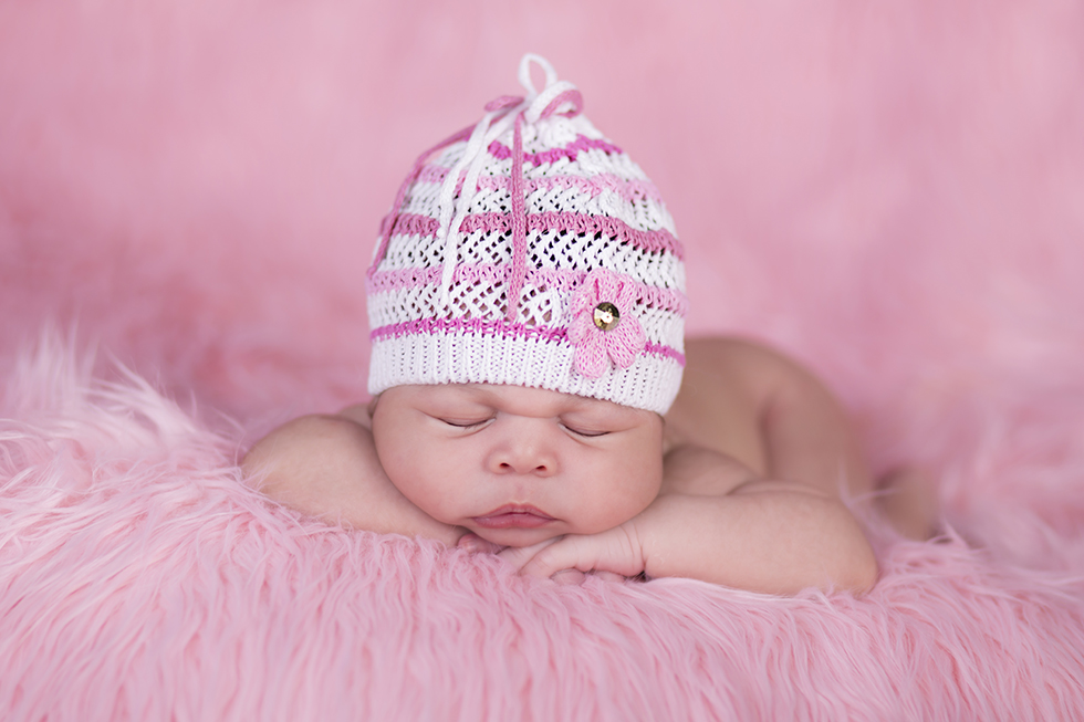 Girl Newborn Photographer