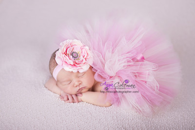 Beautiful Newborn baby in Frisco TX photography studio.